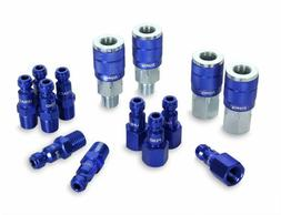 colorconnex coupler plug kit 14 piece automotive