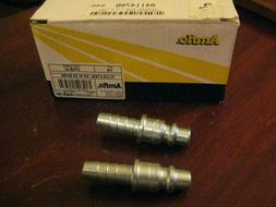 "AMFLO  #CP25-44 Plug 3/8"" Barb To 3/8"" Quick Connect Fitting"