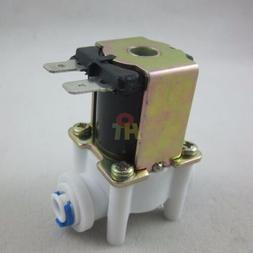 """DC 12V 1/4"""" Inlet Feed Water Quick Connect Solenoid Valve fo"""