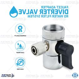 Faucet Adapter Diverter Valve RO Water Filter System Quick C