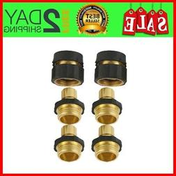 Garden Hose Brass Quick Connect Kit 2 Female Brass Quick Con