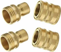 "Garden Hose Quick Connect Fittings 3/4"" Water Hoses Quick Co"