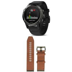 Garmin Fenix 5 - Slate Gray with Black Band and 010-12517-04