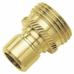 Green Thumb 09QCMGT Brass Male Hose Quick Connect / Connecto