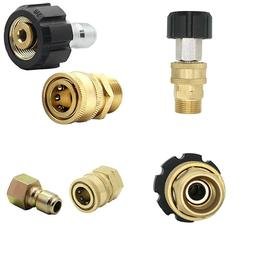 high pressure washer adapter quick connect fittings