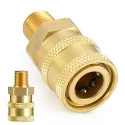 "1/4"" Male  Pressure Washer Brass Quick Connect Coupler Conve"