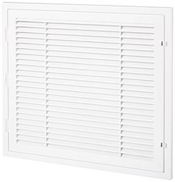 QUICK CONNECT HT-2X2-RTN 2' x 2' White Plastic Louver Return