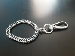 Impressive Stainless Steel Key Ring Lanyard Quick Connect Fi