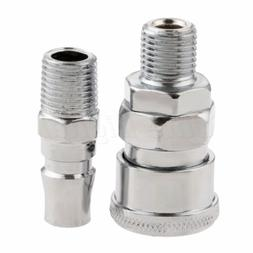 Iron Male Air Line Hose Coupler Connector Fitting 1/4″ BSP
