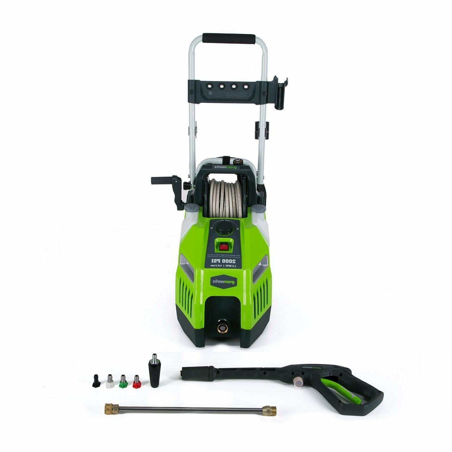 Greenworks Gpw2001 2000 Psi Horz Prs Washer Manual Guide