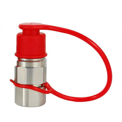 """1/2"""" NPT Hydraulic Quick Connect Coupler Steer Kit"""