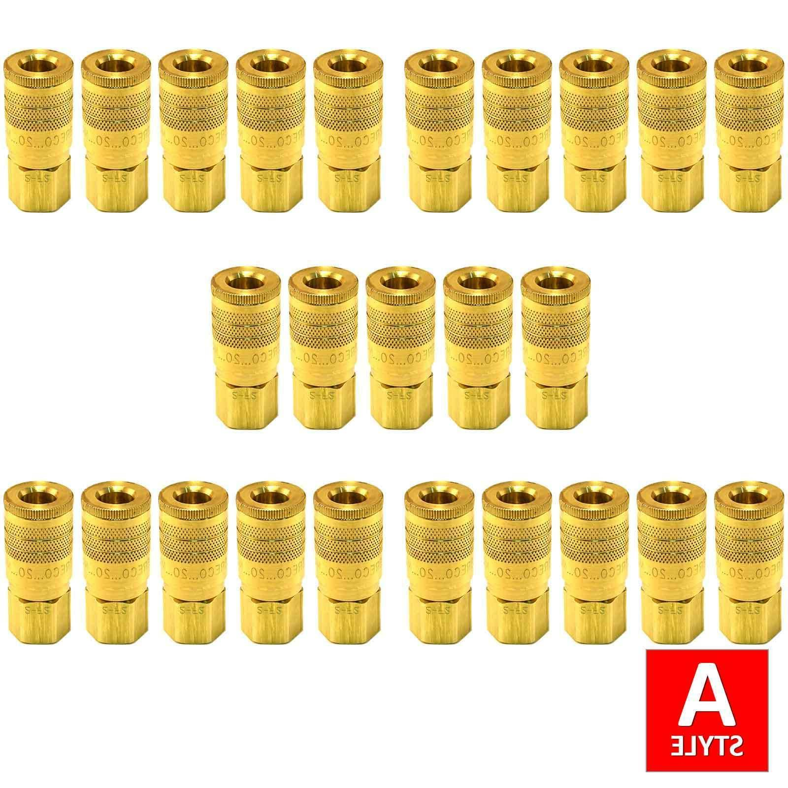 1 4 a style air hose fittings