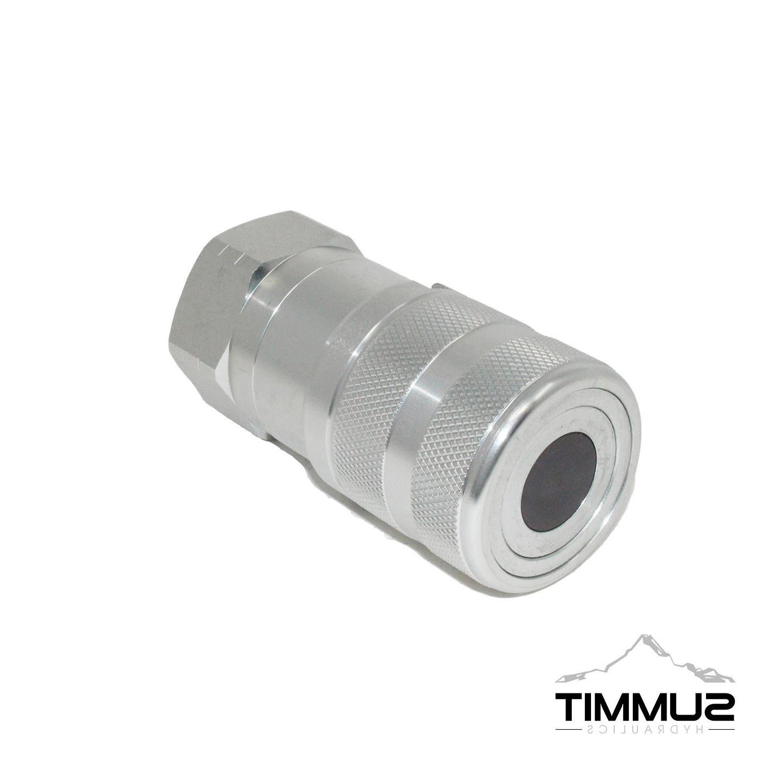 "1"" Flow Flat Quick Connect Coupler Body"