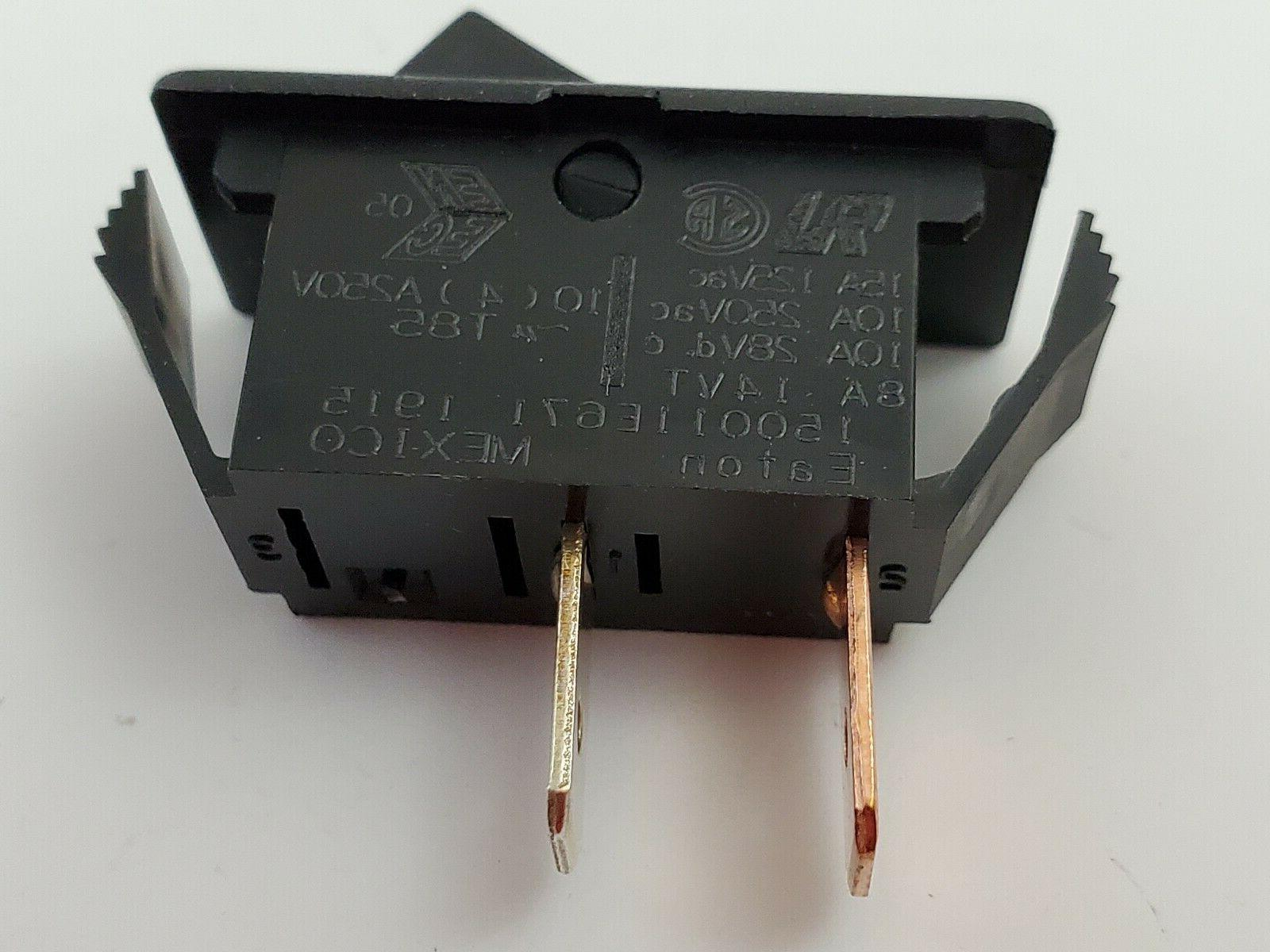 Eaton 150011E671 Rocker SPST 2 15A 125V Connect Tab