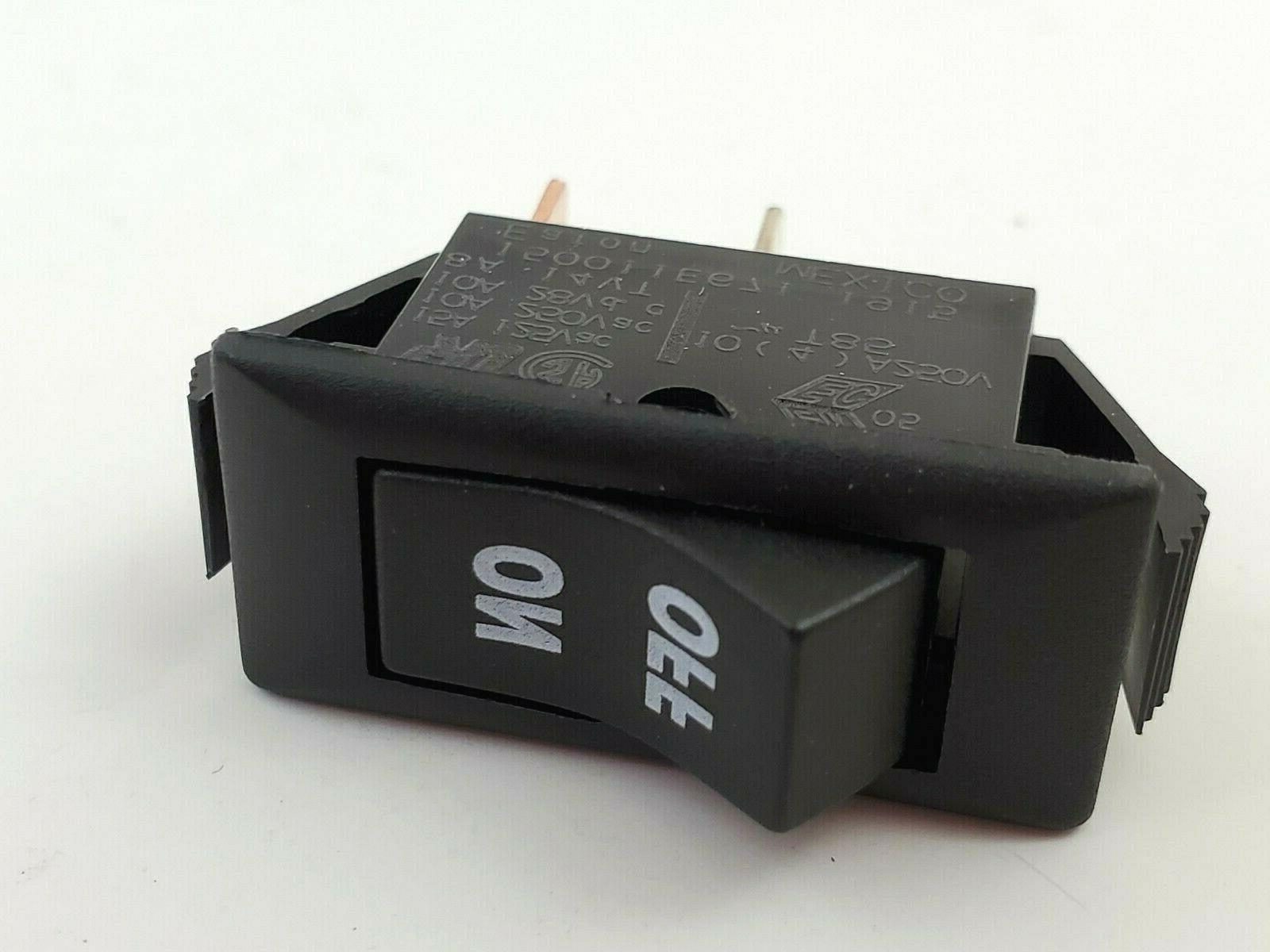 150011e671 rocker switch spst 2 position on