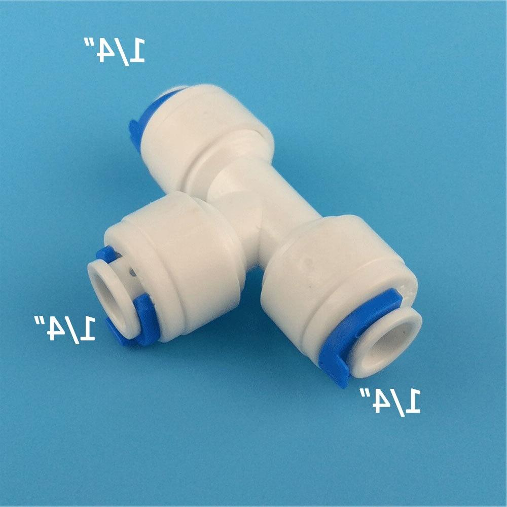 1PCS Union <font><b>Tee</b></font> <font><b>Quick</b></font> <font><b>Connect</b></font> Push for system Filter Connector Fittings T tipy fast