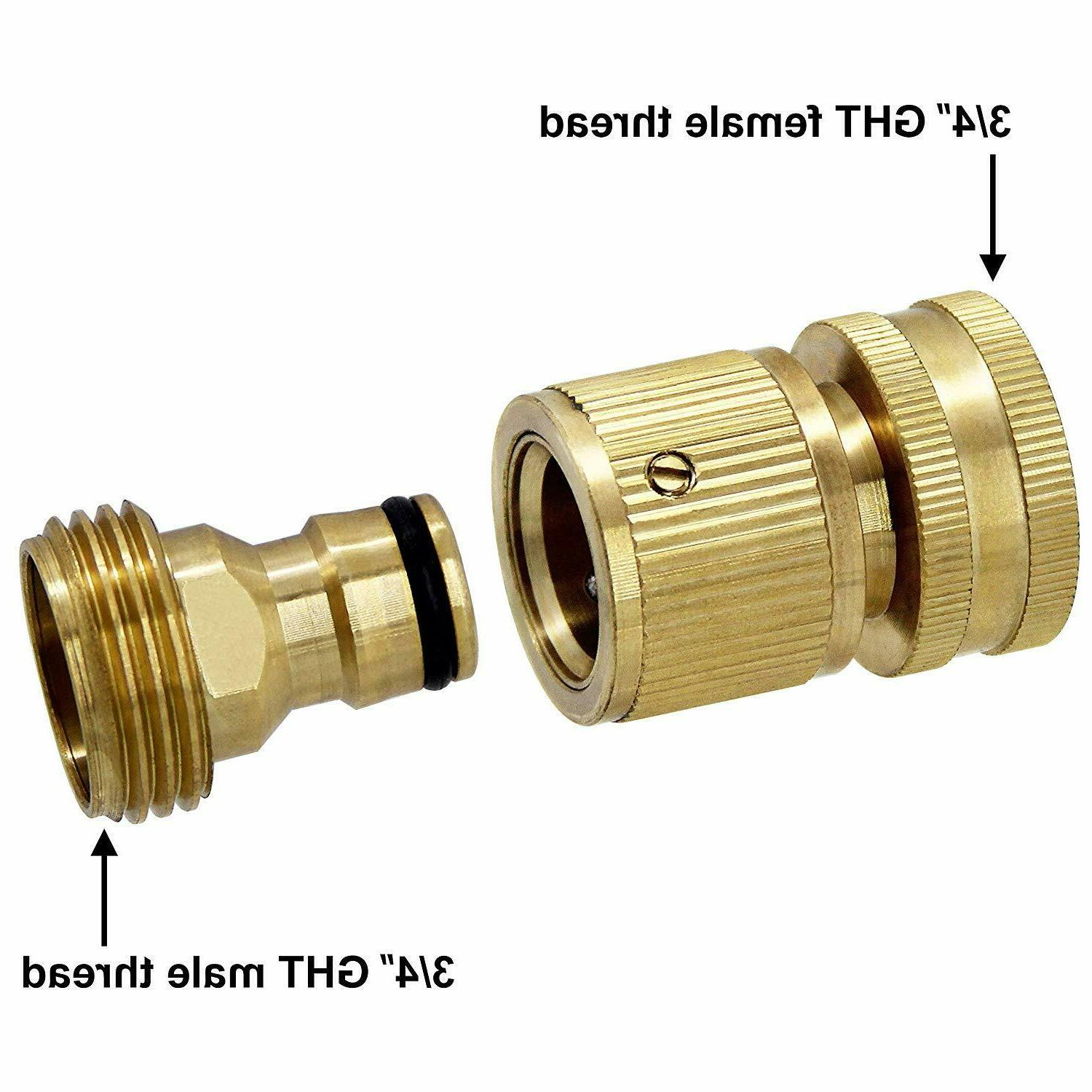2 3/4' Garden Hose Hose Fit Brass Male