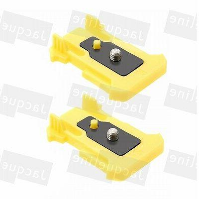2pc Quick Release Buckle Connection Mount for Sony Action Ca
