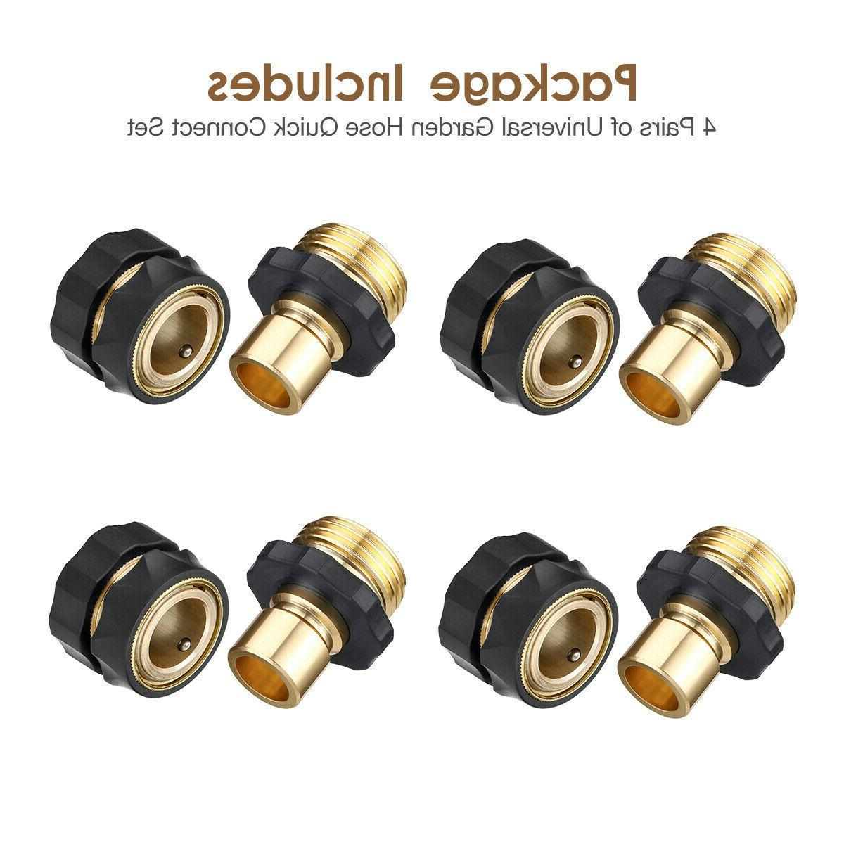 4/8 Garden Quick Fit Female Male Connector US