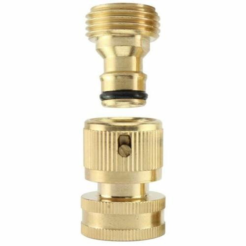 3/4' Connect Brass Male Set