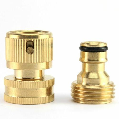 3/4' Connect Hose Fit Brass Female Set