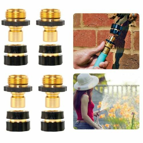 3/4' Garden Hose Connect Brass Female Set