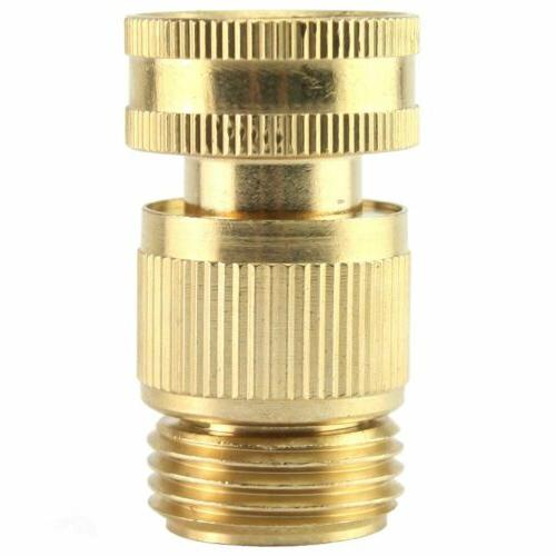 US 3/4' Garden Quick Fit Brass Female Connector