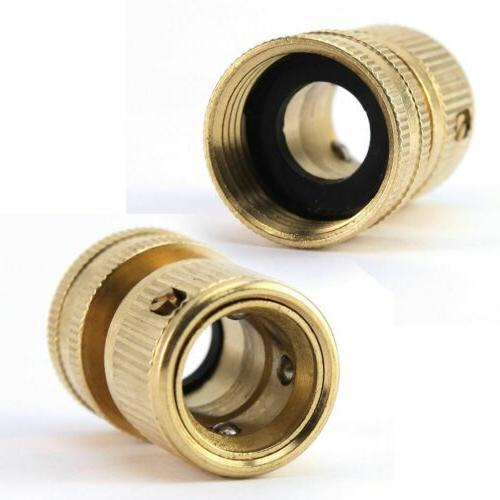 US 3/4' Quick Connect Water Fit Brass Female Connector