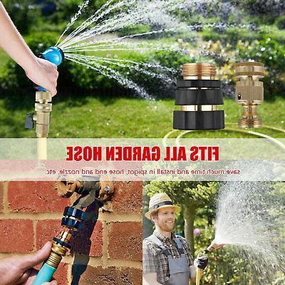 3/4' Hose Connect Water Brass Set