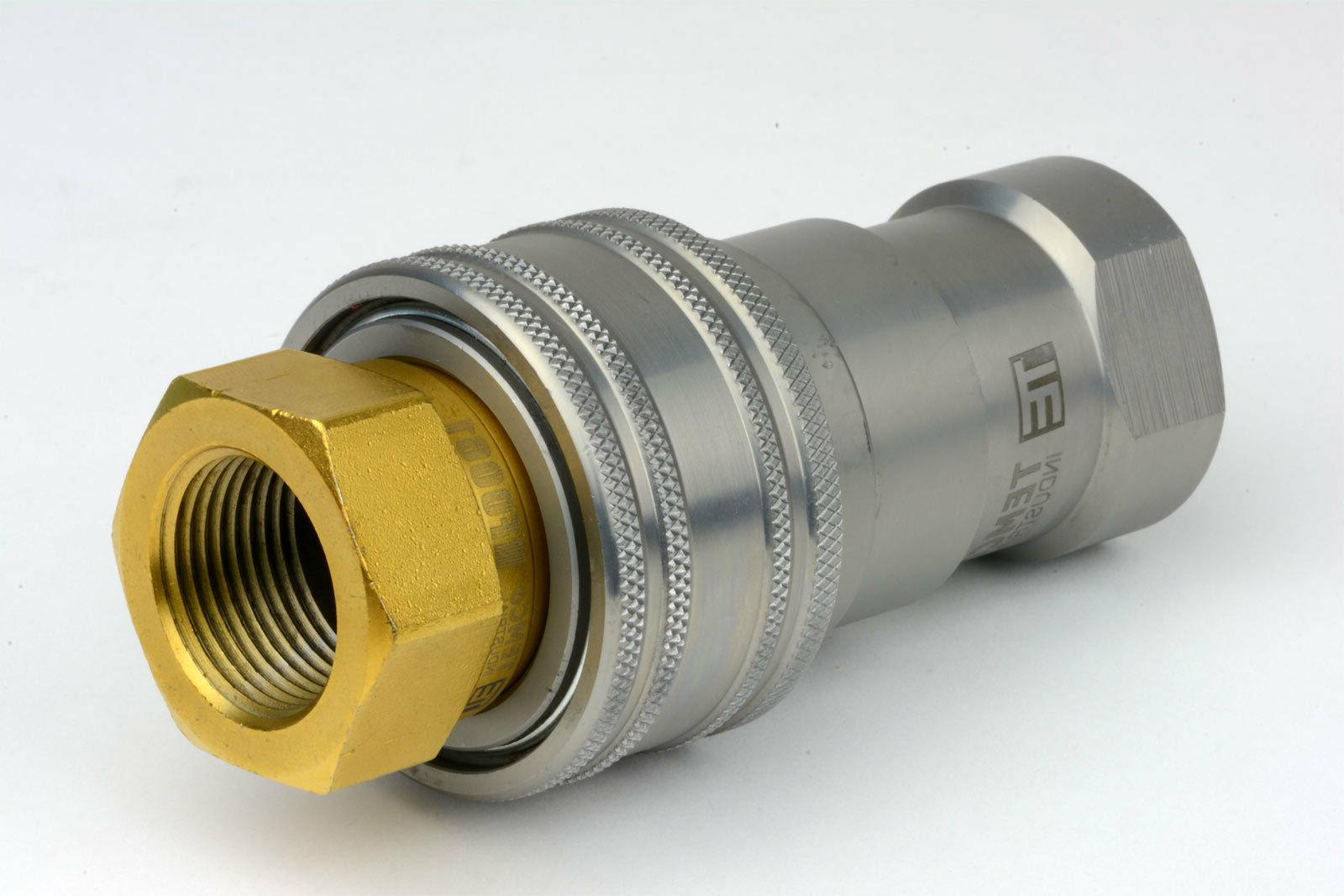 "3/4"" NPT Hydraulic Connect Ball Valve ISO Pioneer"