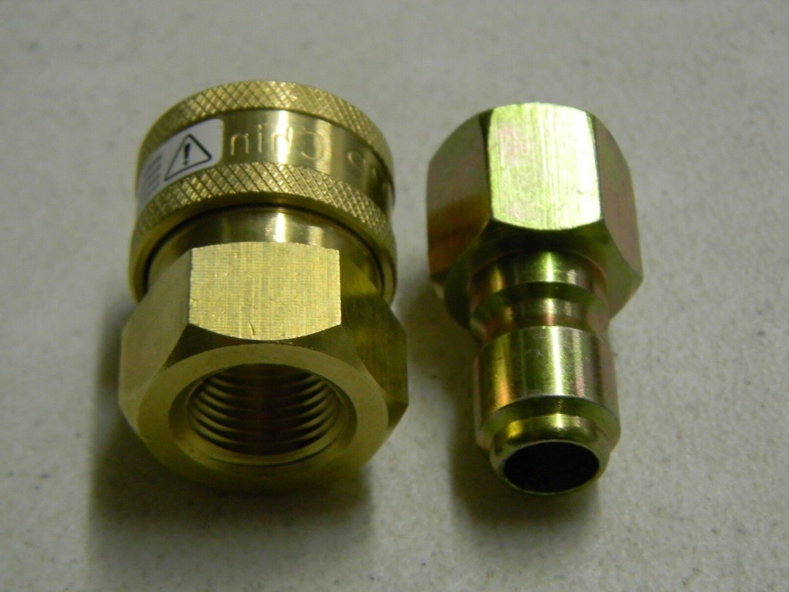 "3/8"" Power QC and Plug Female FPT"