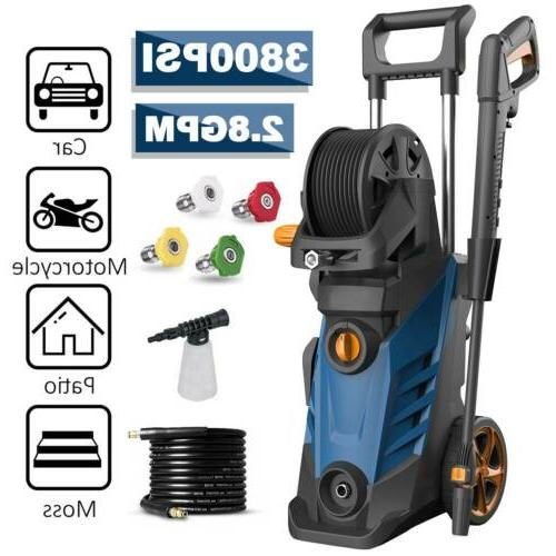 3800psi 2 80gpm electric pressure washer high