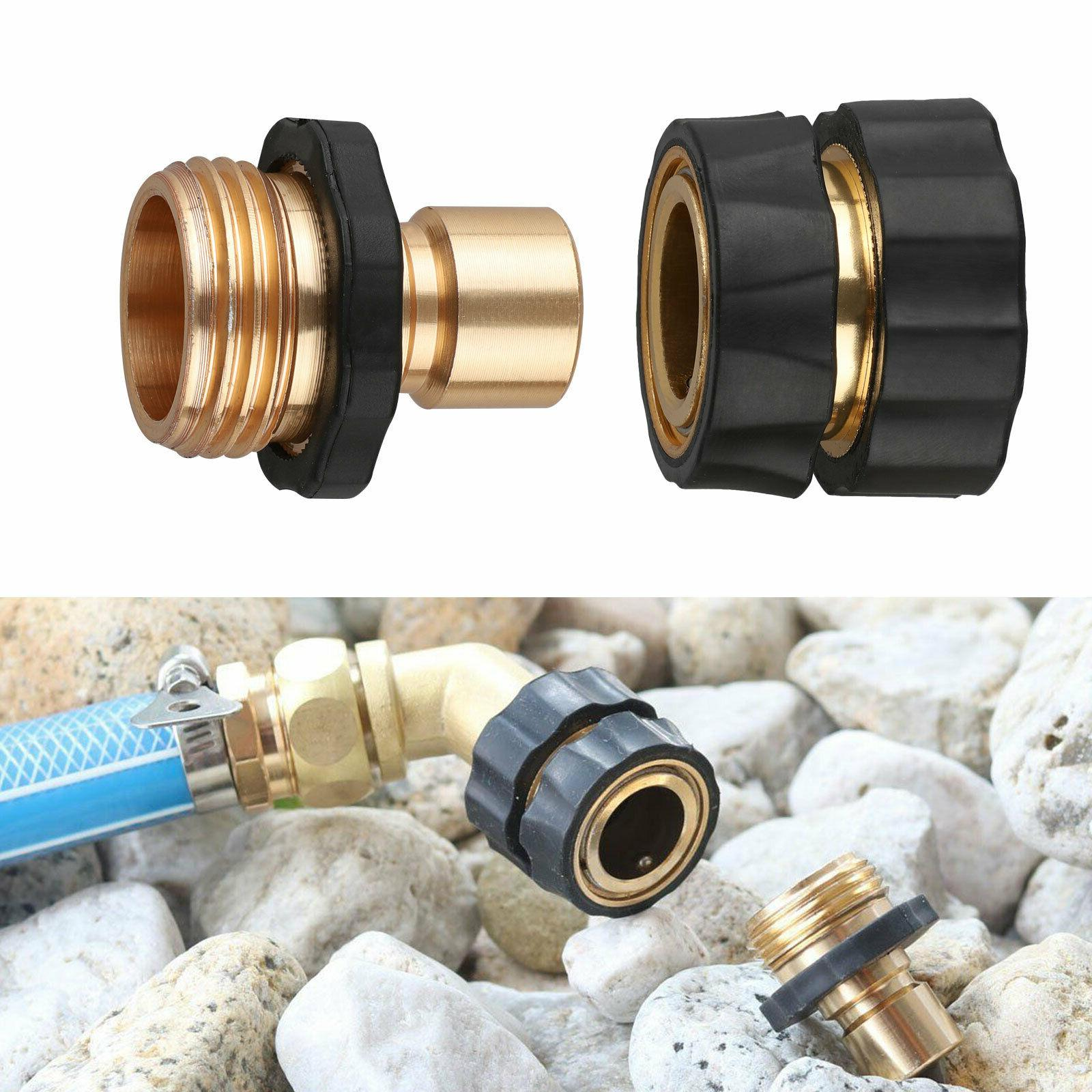 4 Hose Tap Connect Set Pressure Connectors