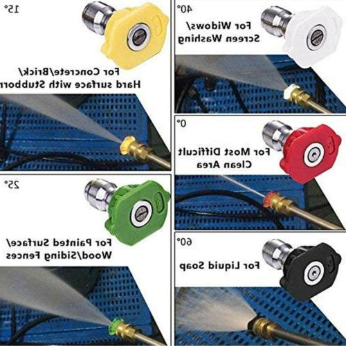 Power Nozzle Variety Degrees US