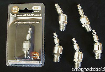 6 illinois industrial swivel quick connect air
