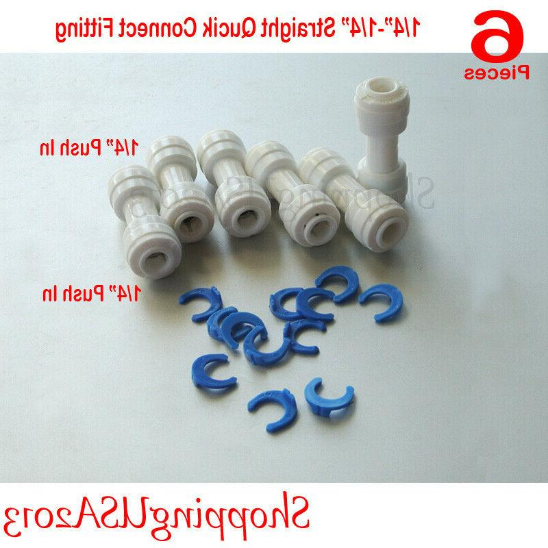 6 Pc Connect Straight Connector Filter
