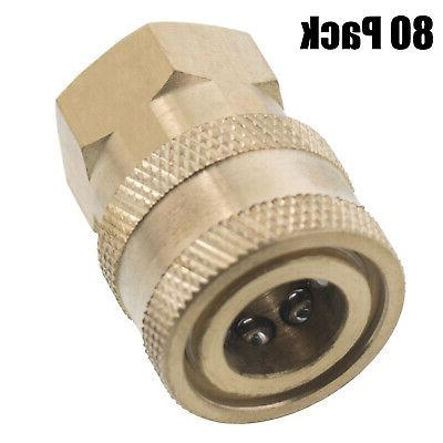 "1/4"" FPT Female Brass Socket Quick Connect Coupler Pressure"