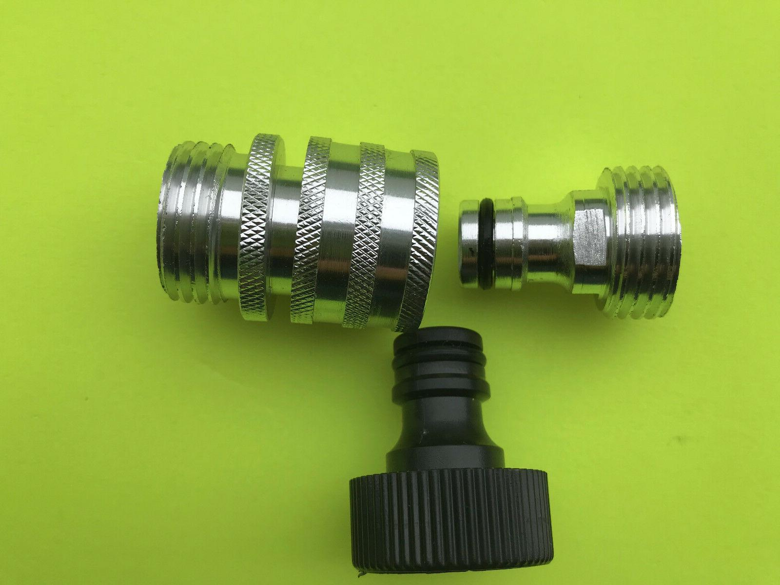 Gardensmith Connect & Female Quick Tap Adapter