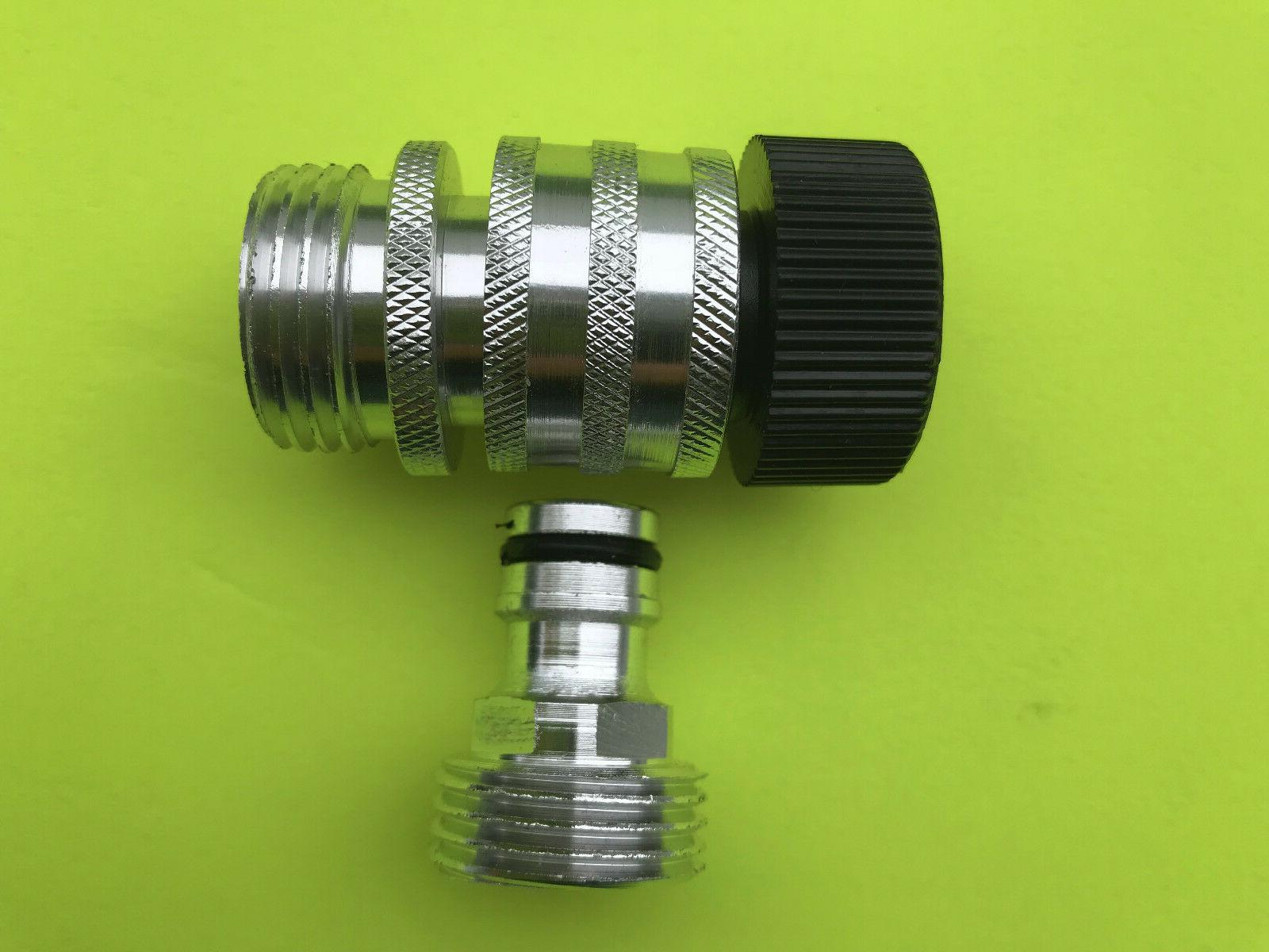 Gardensmith Garden Hose Quick Connect Female With Adapter