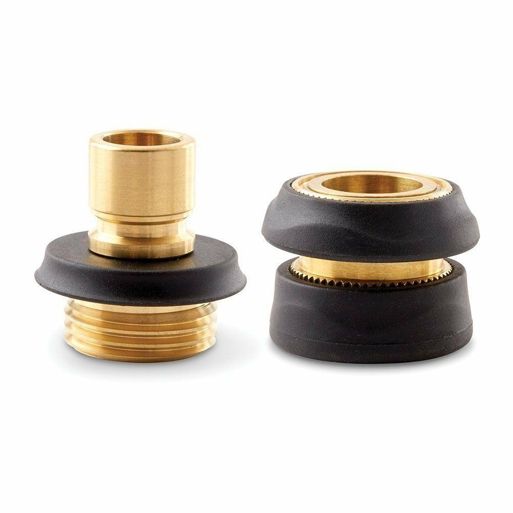 Gilmour 402GAQP PRO High Flow Brass Quick Connector Set Male