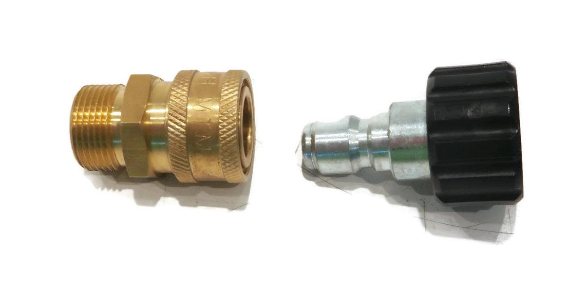 PRESSURE WASHER QUICK CONNECT SET for 24.0447 22mm
