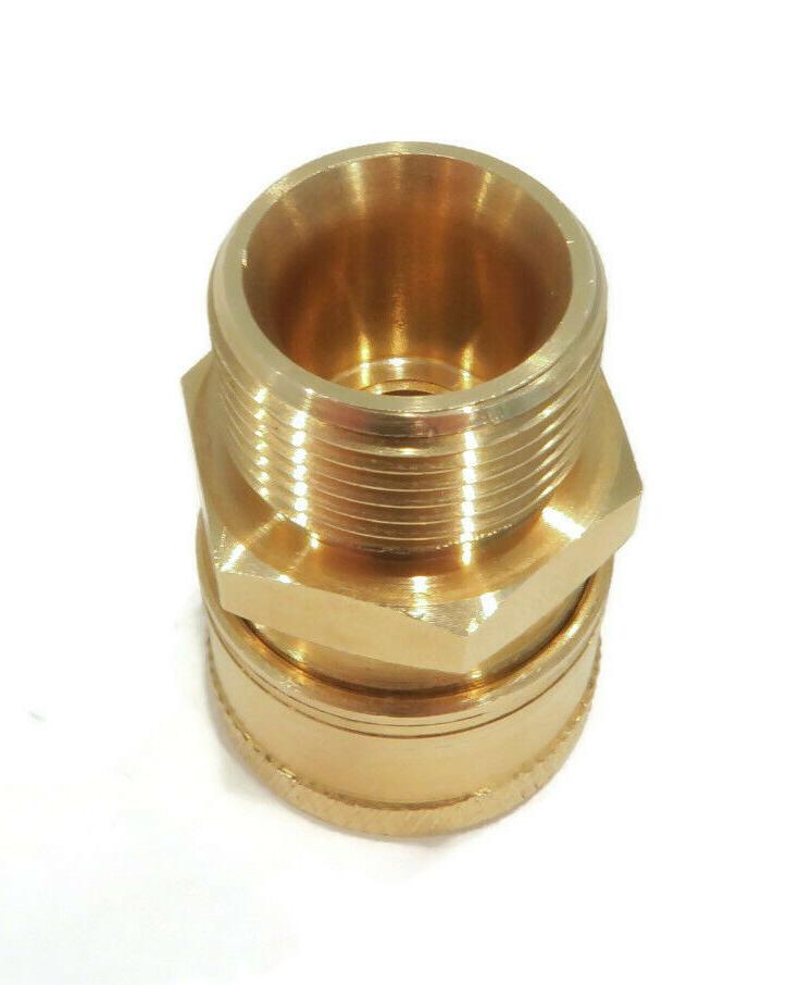 Quick-Connect, Threaded, M22 End 3/8 inch