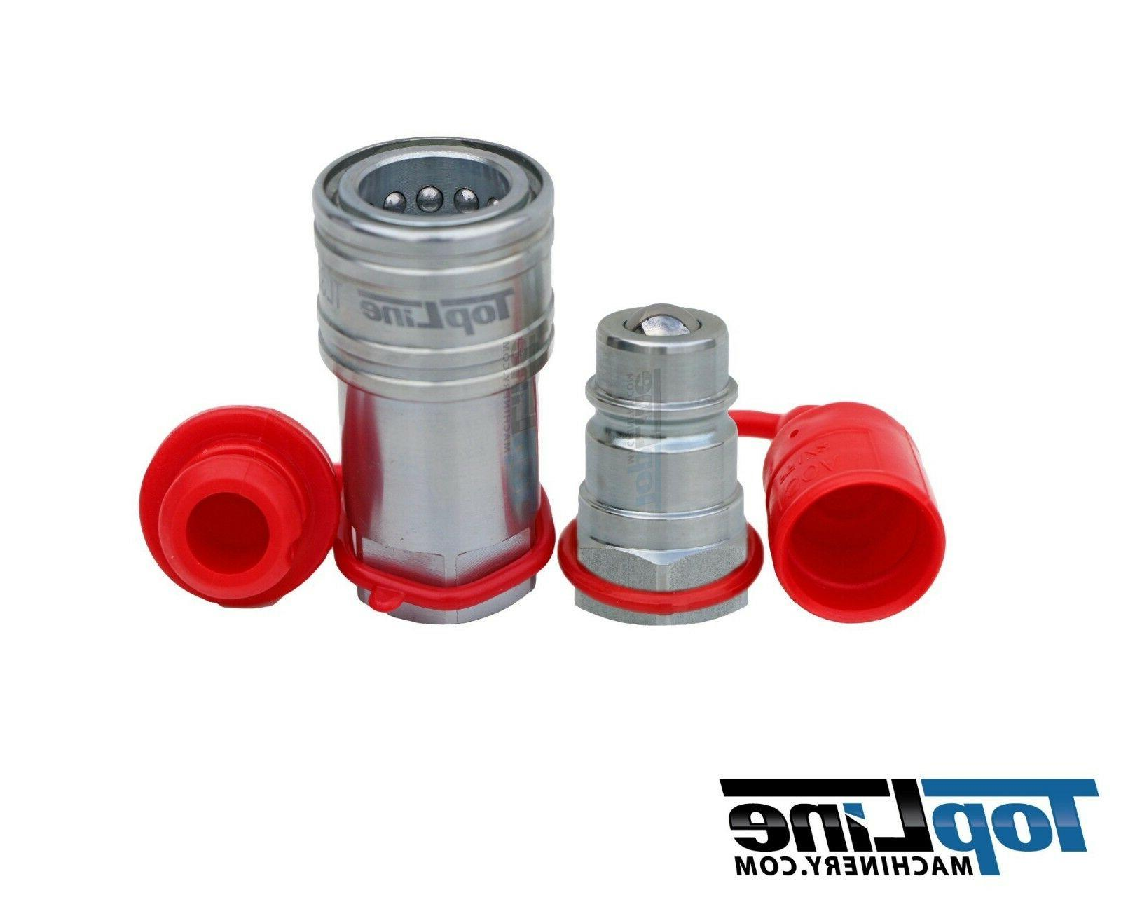 "TL38 1/2"" NPT Thread 1/2"" Ag Hydraulic Quick Connect Coupler"