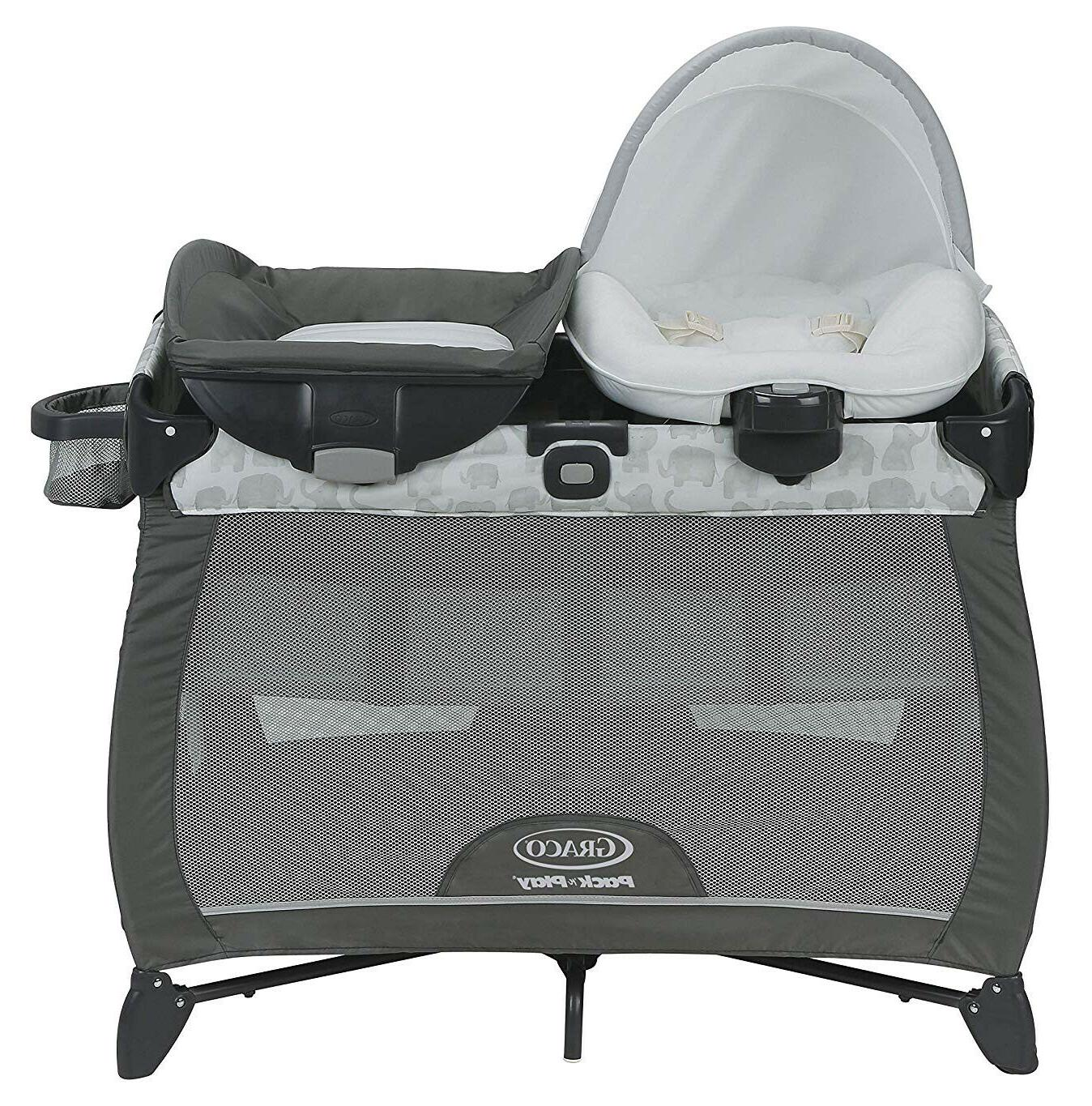 Graco Baby Pack /'n Play Quick Connect Portable Napper Playard Eli NEW