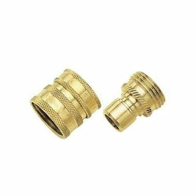 green thumb brass quick connector