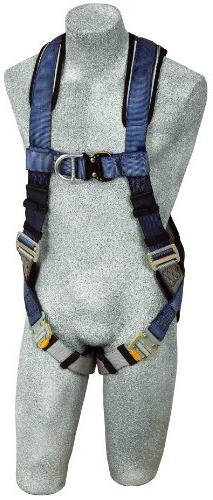3M DBI-SALA ExoFit 1108527 Vest Style Harness, Front and Bac