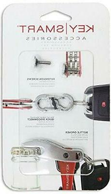 KeySmart Expansion Pack-14 Keys with Quick Disconnect and Bo