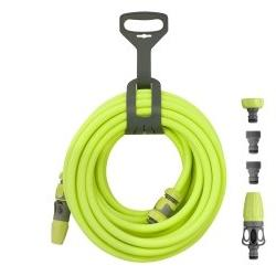 Flexzilla 1/2 x 50 Garden Hose Kit w QD, Nozzle, new