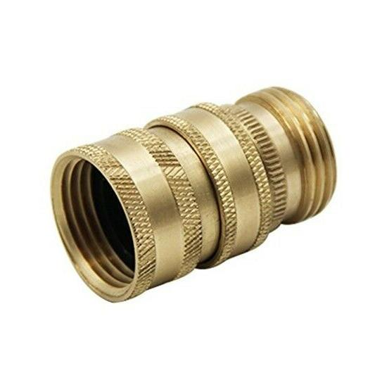 Twinkle Garden Brass Quick Connector Set, 2 Pack,