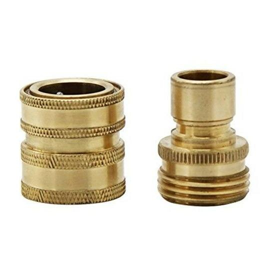 Twinkle Star Hose Brass Quick Connector 2 Pack,